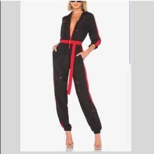 I.AM.GIA Revolve Black Boiler Suit Jumpsuit NWT